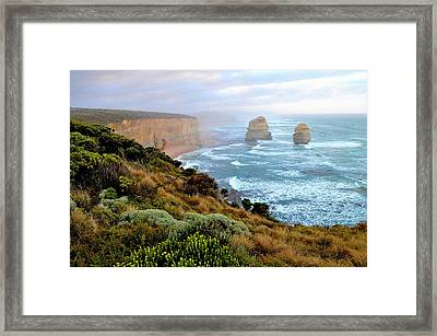 Two Apostles - Great Ocean Road - Australia Framed Print