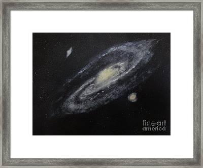 Two Arm Galaxy Framed Print by Tony Ramos