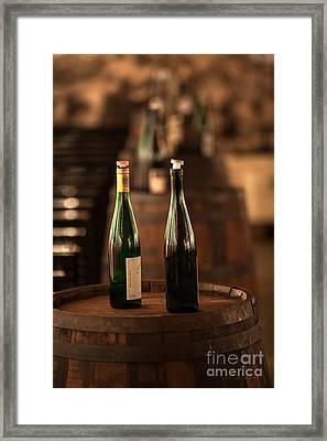 Two Bottles Of Wine Framed Print