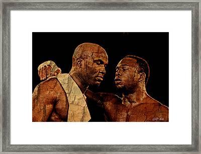 Two Boxers Framed Print by Lynda Payton