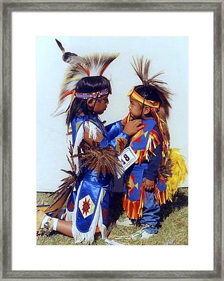 Framed Print featuring the photograph Two Brothers by Debra Kaye McKrill