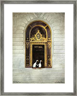 Two By Two... Framed Print