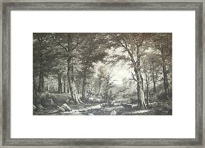 Two Centuries Ago Framed Print by Sherlyn Morefield Gregg