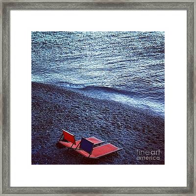 Two Chairs Framed Print by H Hoffman
