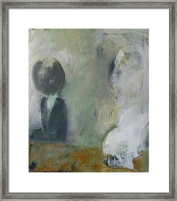 Framed Print featuring the painting Two Children by Fred Smilde