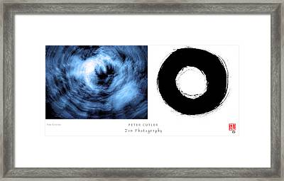 Two Circles Framed Print