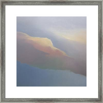 Two Clouds Framed Print