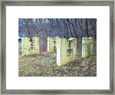Two Cradles By The Woods Framed Print