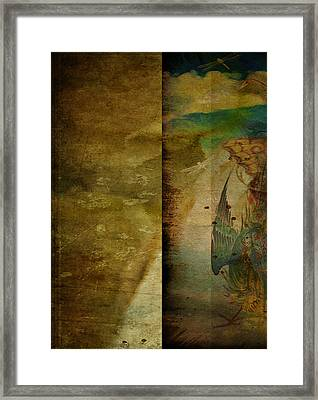 Two Delicate Screens Framed Print by Sarah Vernon
