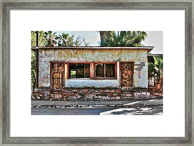 Two Door Model Framed Print by Kandy Hurley