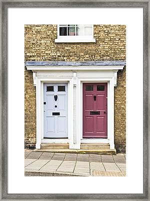 Two Doors Framed Print