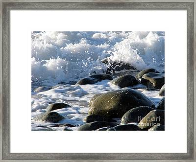 Two Elements Framed Print by Jola Martysz