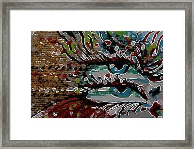 Two Eyes Framed Print by Tommytechno Sweden