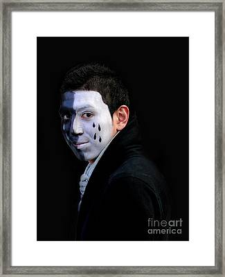 Two-faced Framed Print by Al Bourassa