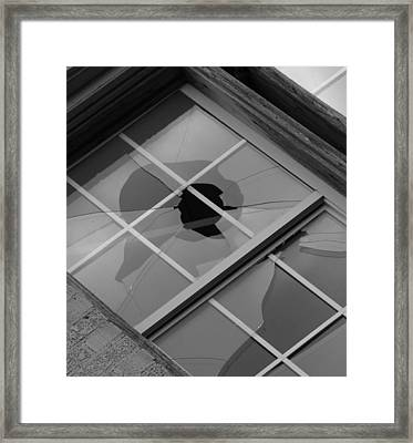 Framed Print featuring the photograph Two Faced by Roseann Errigo
