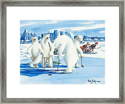 Two Foot Putt Framed Print by Bob Patterson
