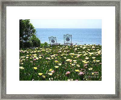 Two For The Road Framed Print by Theresa Ramos-DuVon