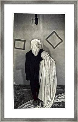 Two Ghosts Framed Print by Gregory Dyer