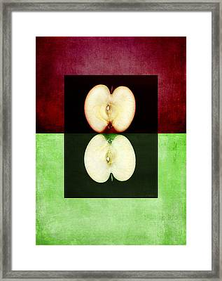 Two Halves Framed Print
