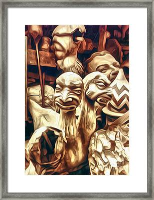 Two Headed Monster Framed Print by Gregory Dyer