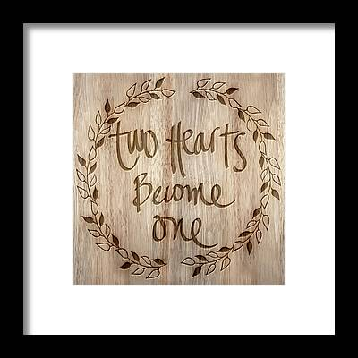 Become One Framed Prints
