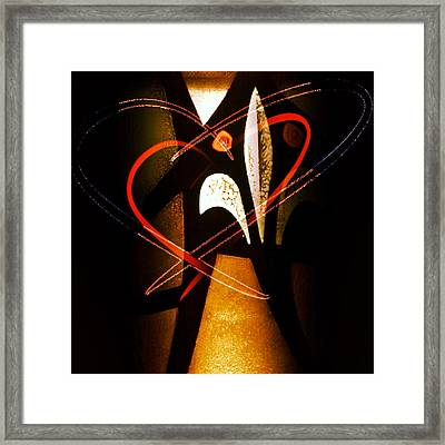 Two Hearts Framed Print by Patricia Januszkiewicz