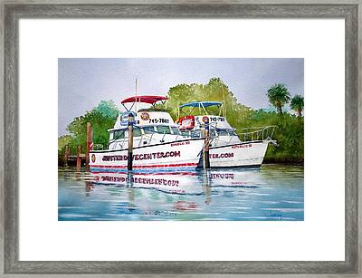 Two If By Sea Framed Print