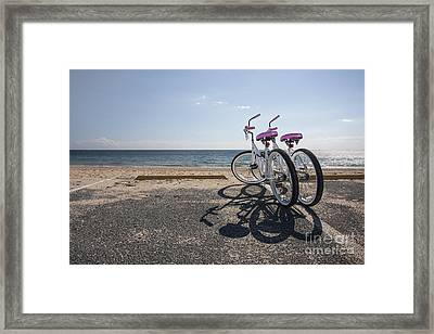 Two If By The Sea Framed Print