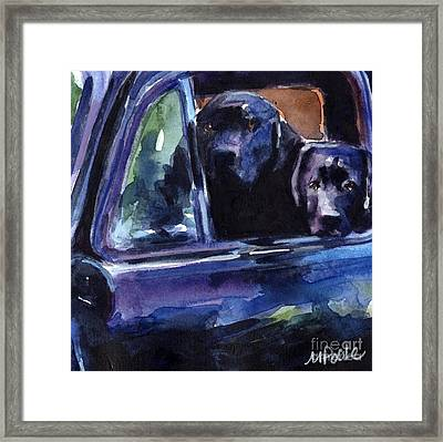 Two Into Fifty One Framed Print by Molly Poole