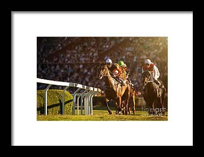 Horseman Framed Prints