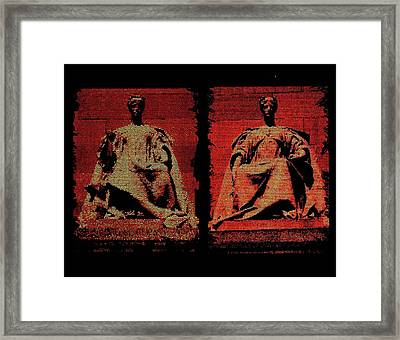 Two Justices Framed Print
