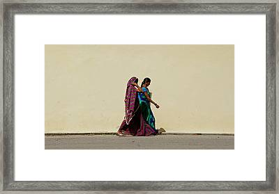 Two Ladies Framed Print by Kees Colijn