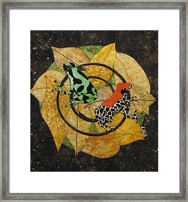 Two Little Beauties Framed Print