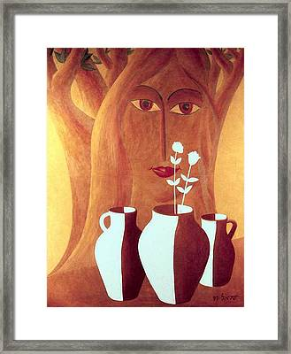 Two Lives Framed Print