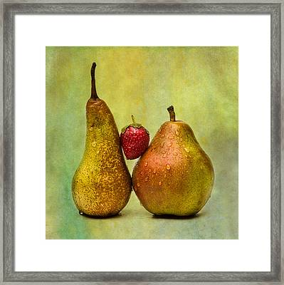 Two Lives One Heart - Square 2 Framed Print by Alexander Senin