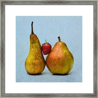 Two Lives One Heart - Square 3 Framed Print by Alexander Senin