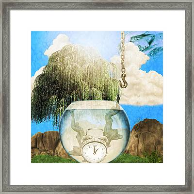 Two Lost Souls Framed Print