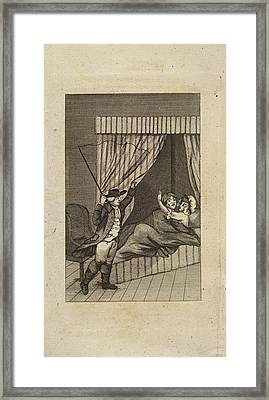 Two Lovers Framed Print by British Library