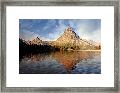 Framed Print featuring the photograph Two Medicine by Marty Koch