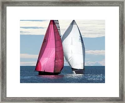Two Of Us Framed Print by Jola Martysz