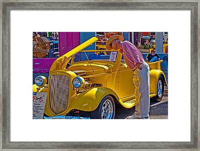 Two Old Timers  Framed Print