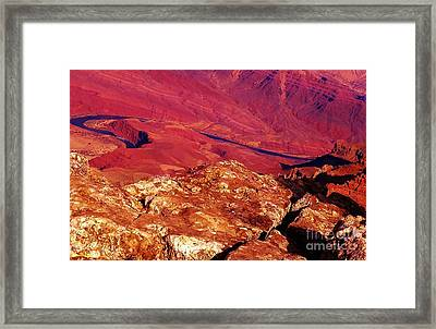 Two One Hundred Eighty Five Framed Print by Debbie L Foreman