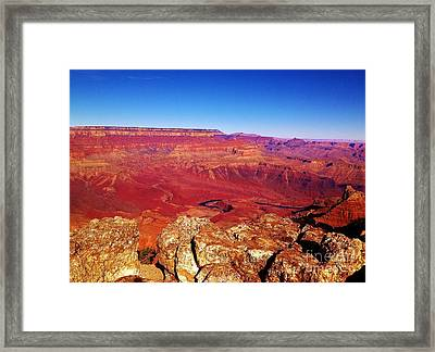 Two One Hundred Eighty Four Framed Print by Debbie L Foreman