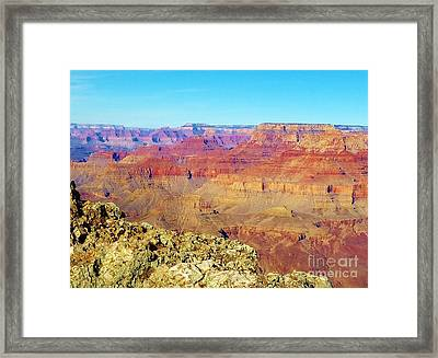 Two One Hundred Eighty Seven Framed Print by Debbie L Foreman