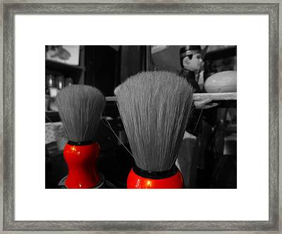 A Brush With Colour Framed Print by Fabien White