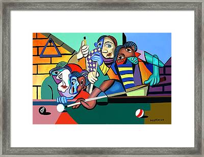 Two Out Of Three Framed Print