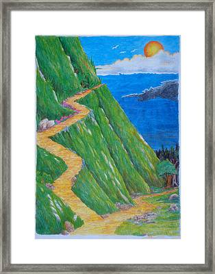 Two Paths Framed Print by Matt Konar