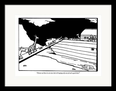 Two By Two Drawings Framed Prints