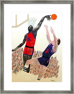 Two Points Framed Print by Andrew Petras