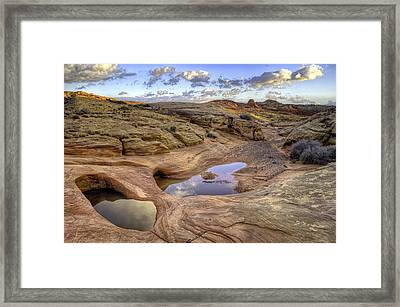 Two Pools Framed Print